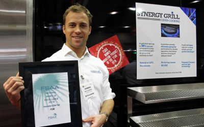 Synergy Grill Celebrate Coveted Award-Win In Australia!