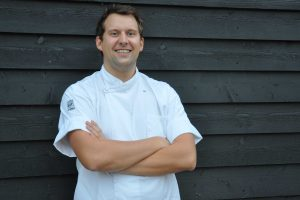 Head chef Stevie Robson at The Cookhouse, Suffolk