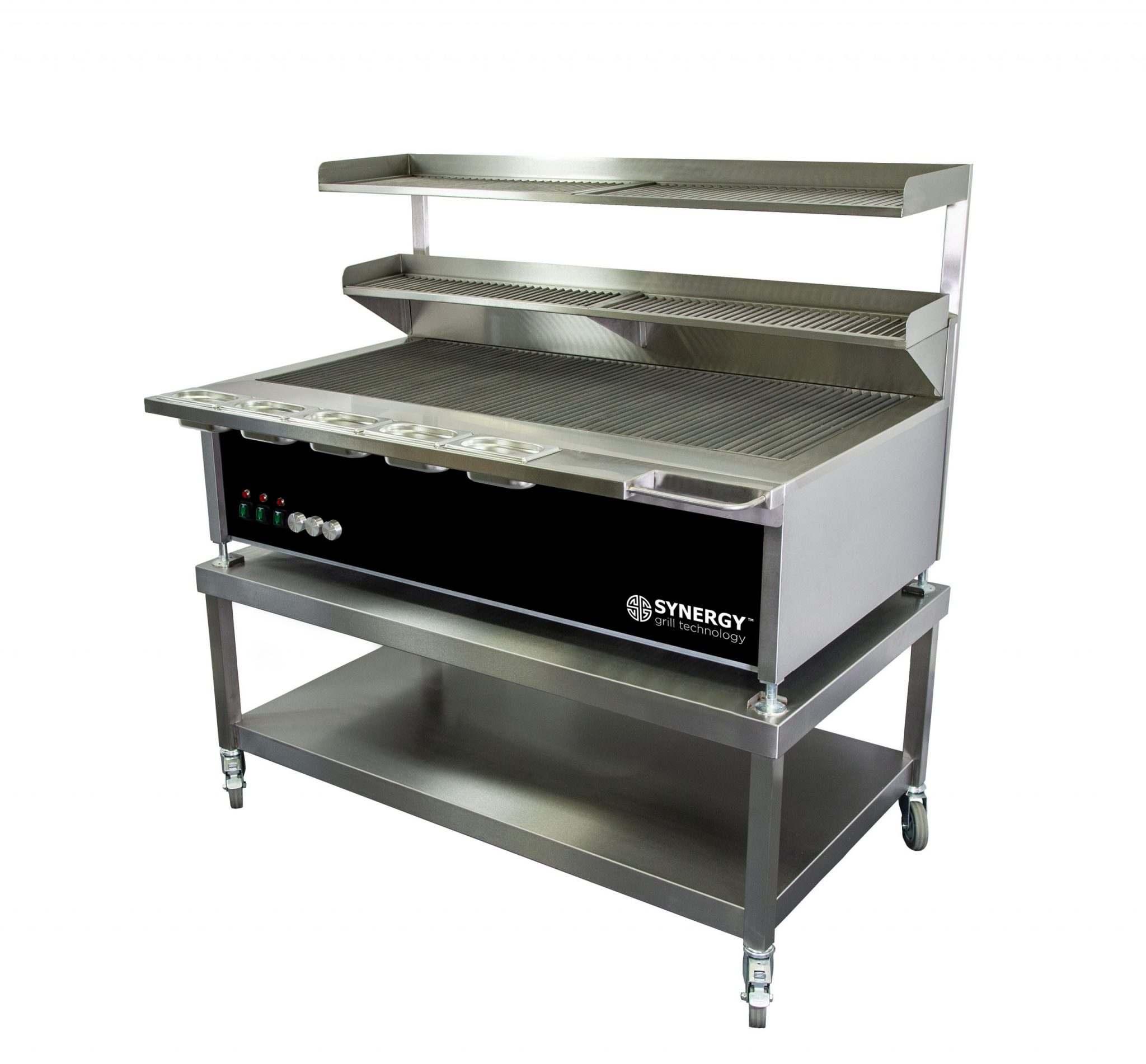 Synergy Grill Trilogy ST1300 Black with Mobile Table