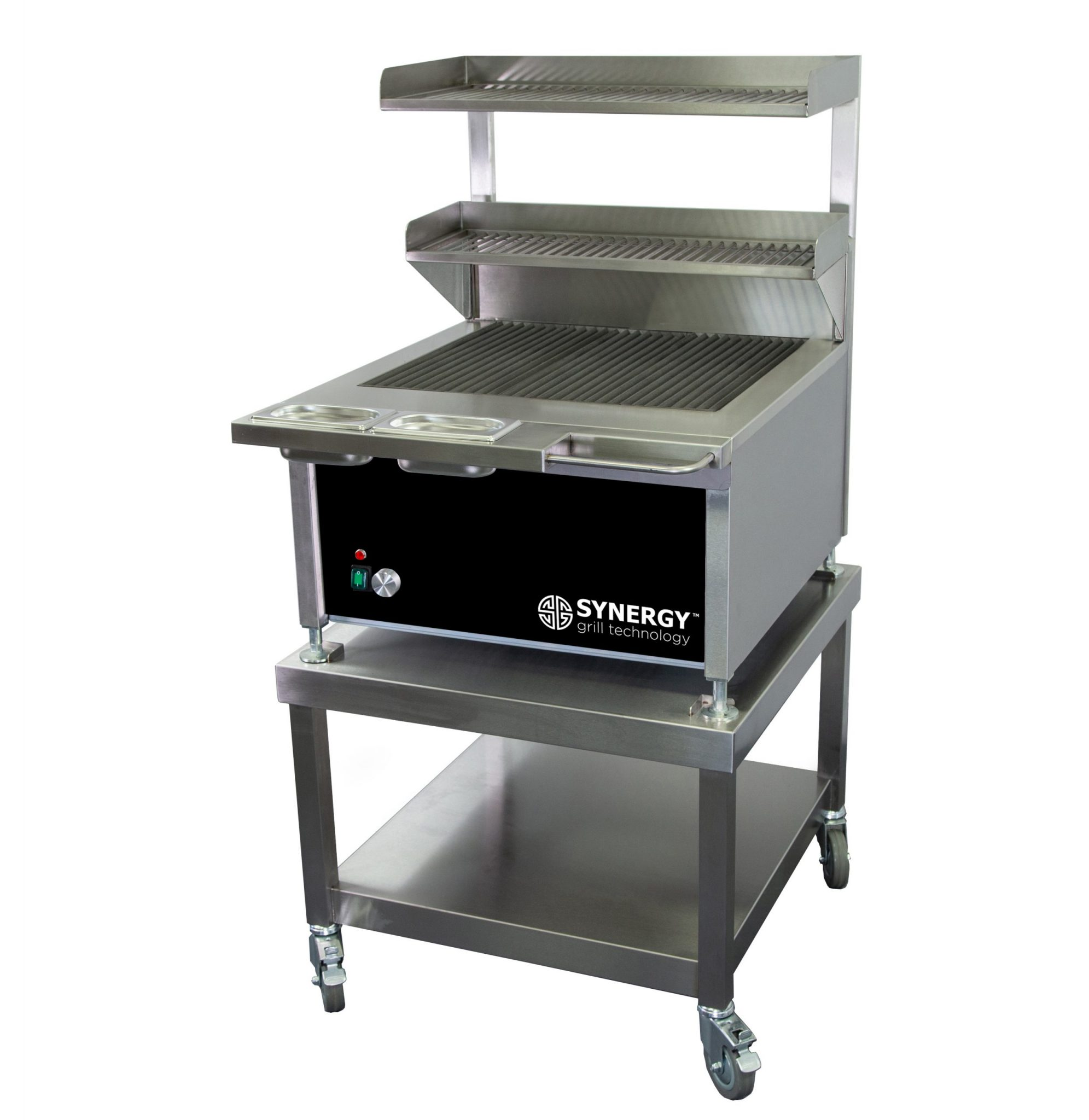 Synergy Grill Trilogy ST630 Black with Mobile Table