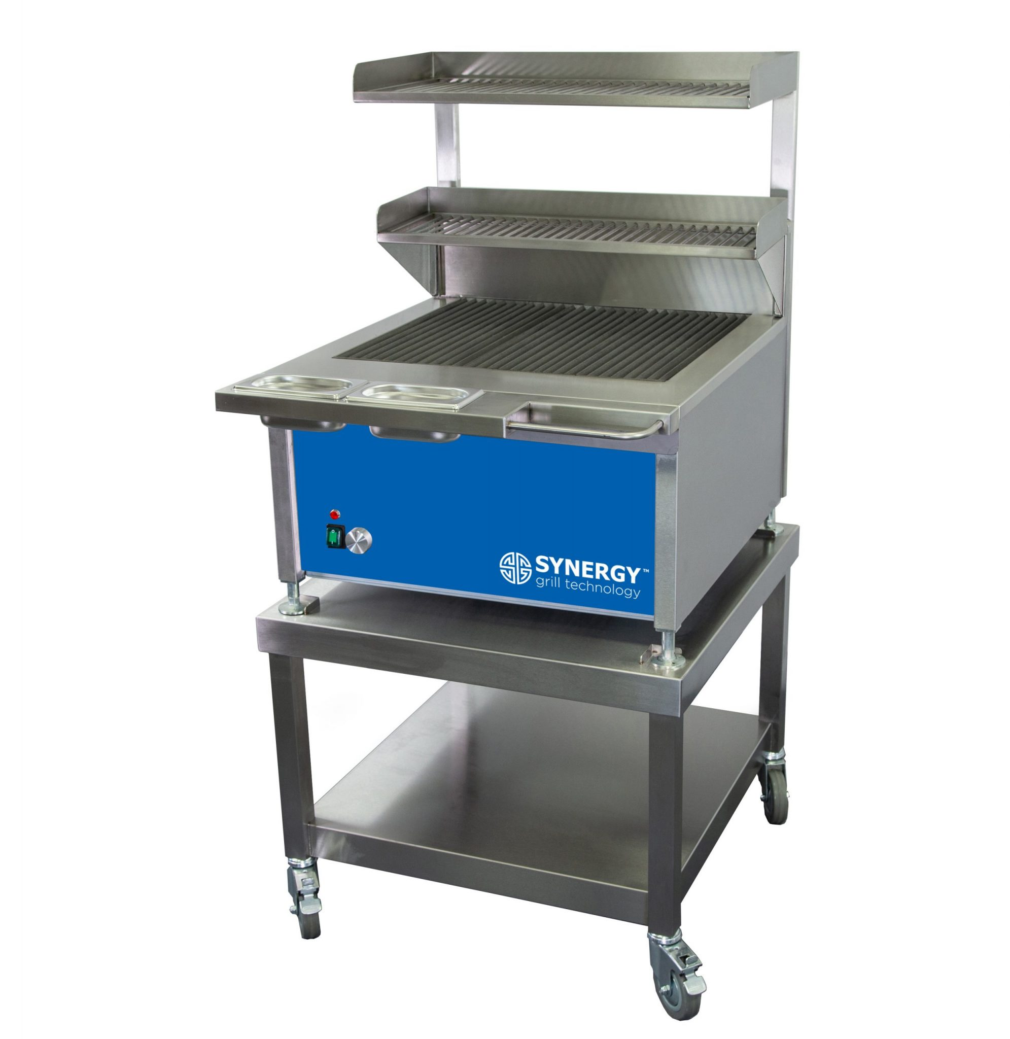 Synergy Grill Trilogy ST630 Blue with Mobile Table