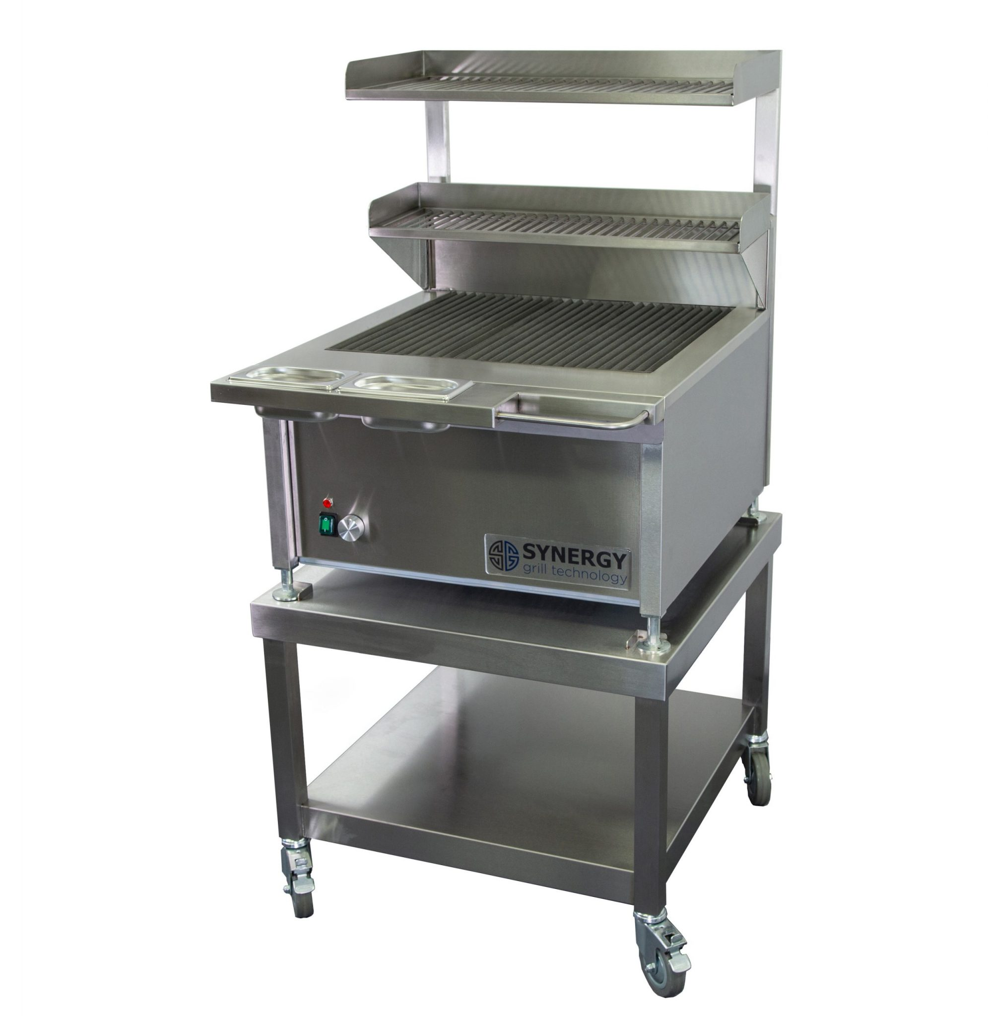 Synergy Grill Trilogy ST630 Silver with Mobile Table