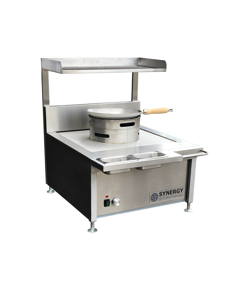 ST630 with Wok Cooker